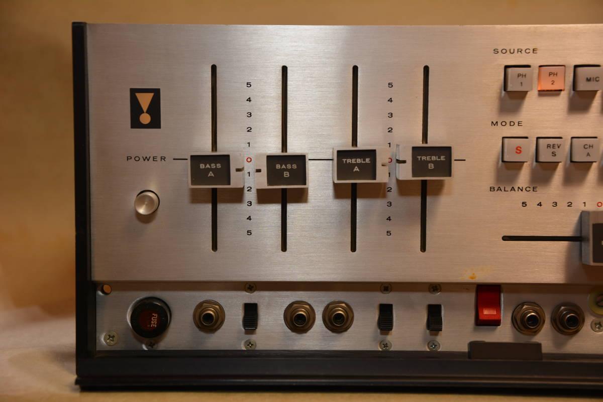 JBL / SG520 / ステレオコントロールアンプ ・ジャンク扱い_画像4