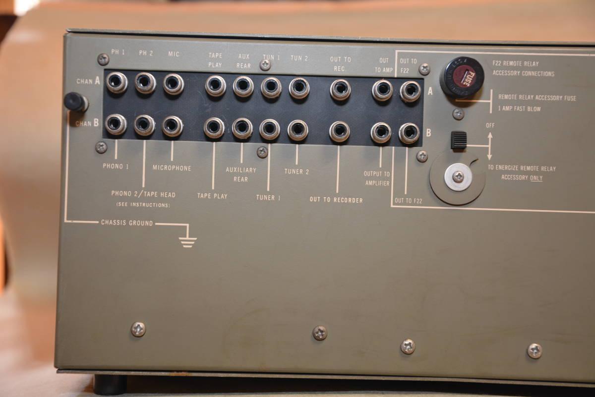 JBL / SG520 / ステレオコントロールアンプ ・ジャンク扱い_画像7