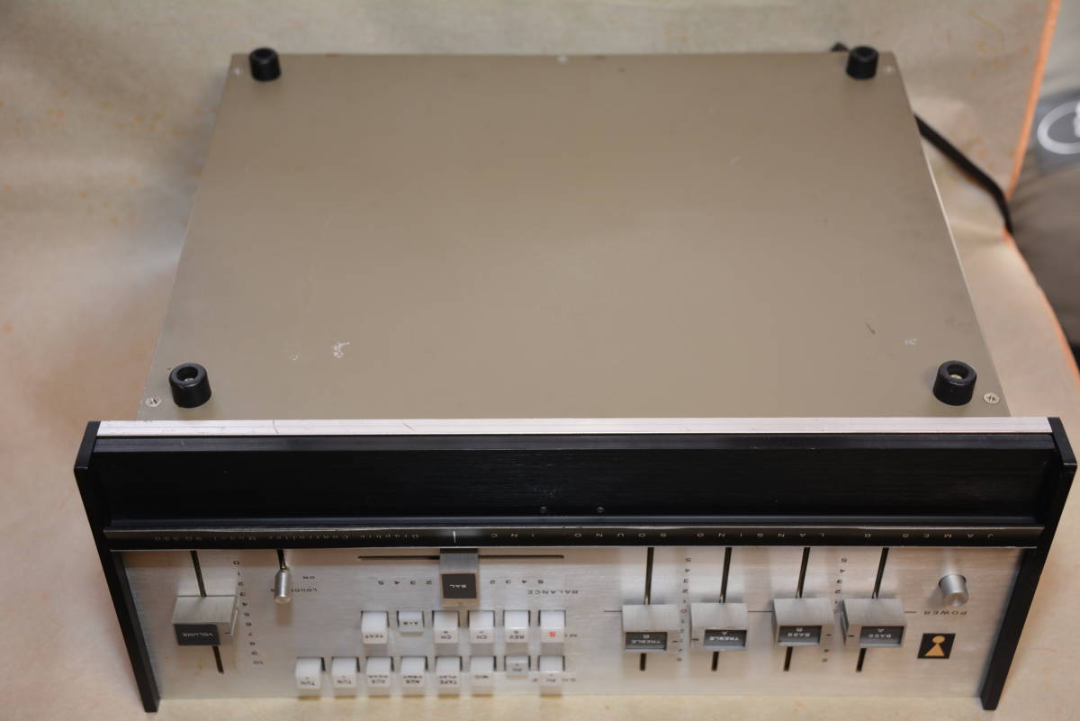 JBL / SG520 / ステレオコントロールアンプ ・ジャンク扱い_画像8