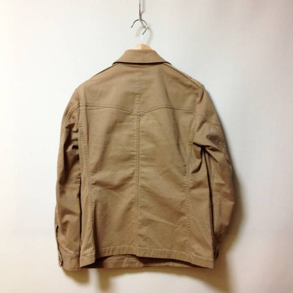 #UNITED ARROWS|ユナイテッドアローズ ストレッチ入りF2ミリタリージャケット sizeS.