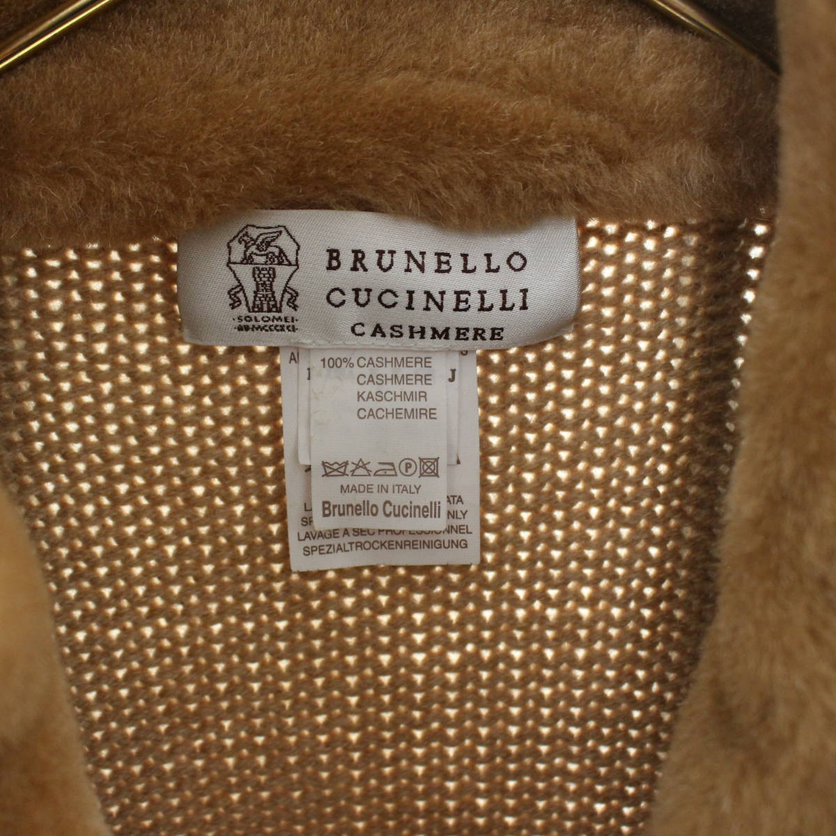 BRUNELLO CUCINELLI CASHMERE MOUTON JACKET MADE IN ITALY/ブルネロクチネリカシミヤムートンジャケット_画像7