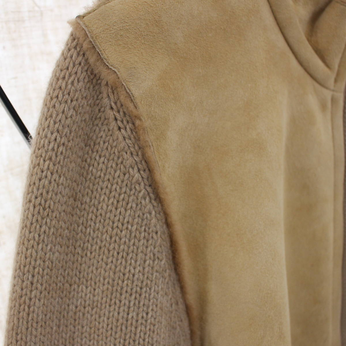 BRUNELLO CUCINELLI CASHMERE MOUTON JACKET MADE IN ITALY/ブルネロクチネリカシミヤムートンジャケット_画像4