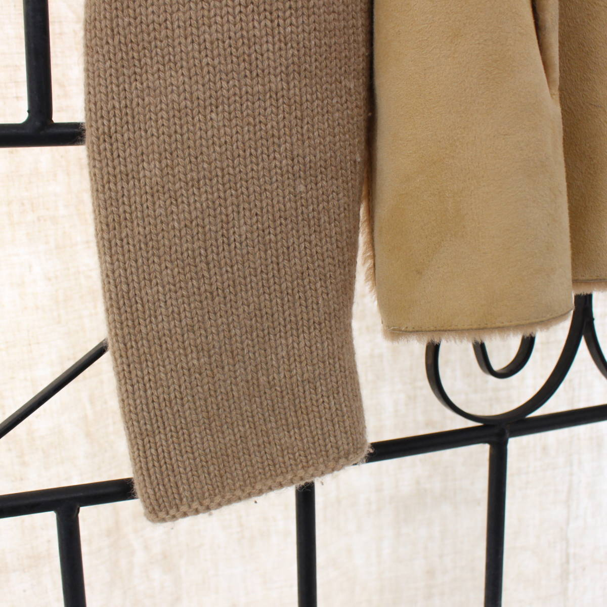 BRUNELLO CUCINELLI CASHMERE MOUTON JACKET MADE IN ITALY/ブルネロクチネリカシミヤムートンジャケット_画像6