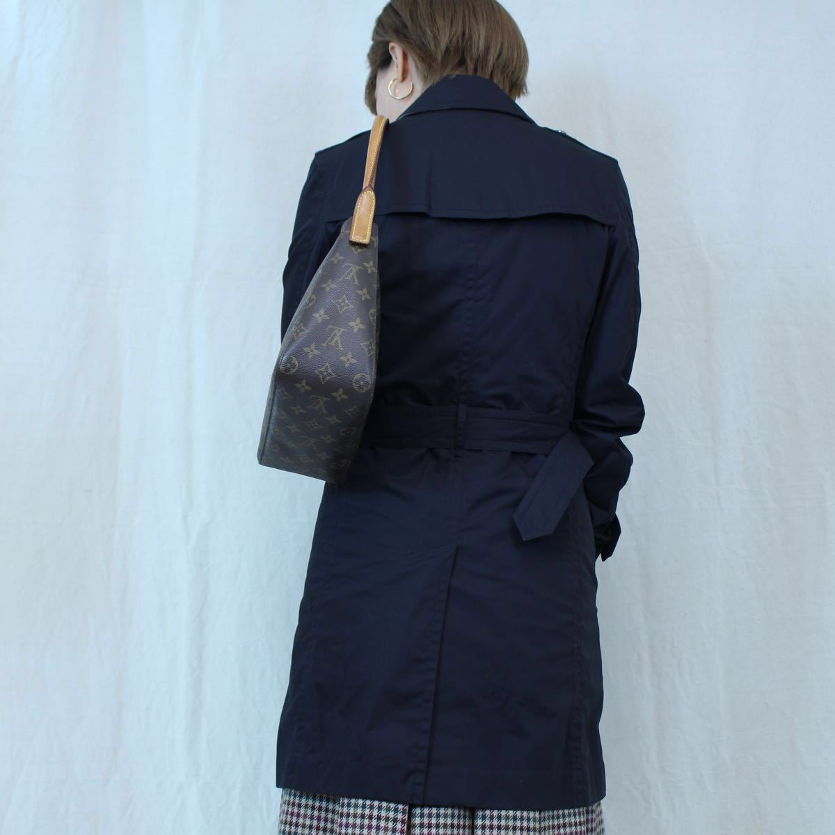 BURBERRY BRIT TRENCH COAT WITH QUILTING LINER MADE IN CHINA/バーバリーブリットキルティングライナー付トレンチコート_画像9