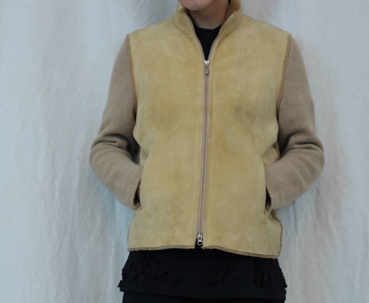 BRUNELLO CUCINELLI CASHMERE MOUTON JACKET MADE IN ITALY/ブルネロクチネリカシミヤムートンジャケット_画像10