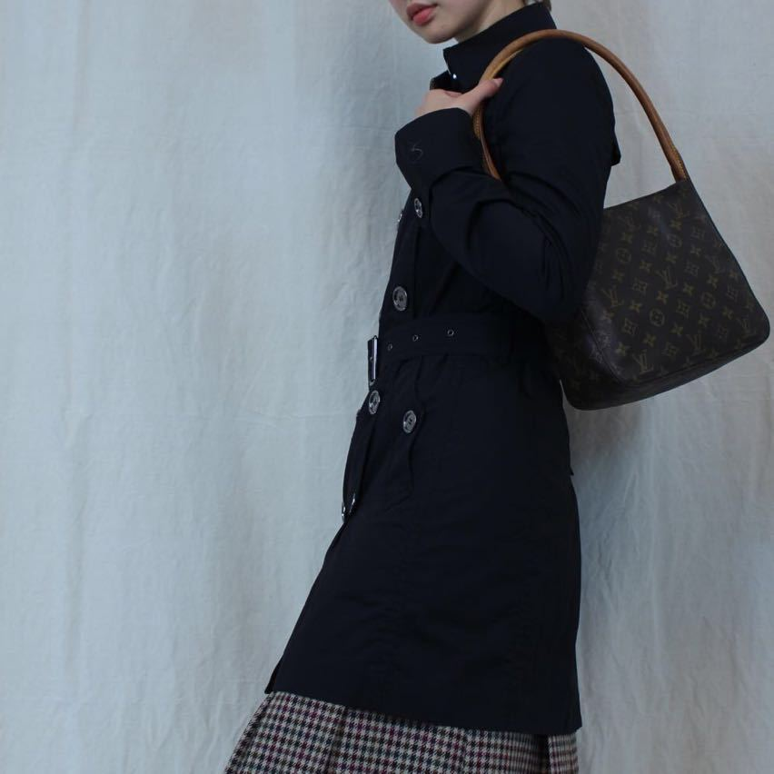 BURBERRY BRIT TRENCH COAT WITH QUILTING LINER MADE IN CHINA/バーバリーブリットキルティングライナー付トレンチコート_画像10