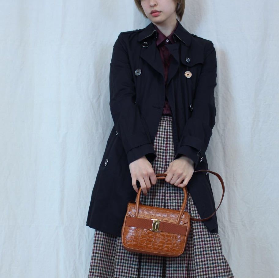 BURBERRY BRIT TRENCH COAT WITH QUILTING LINER MADE IN CHINA/バーバリーブリットキルティングライナー付トレンチコート_画像7