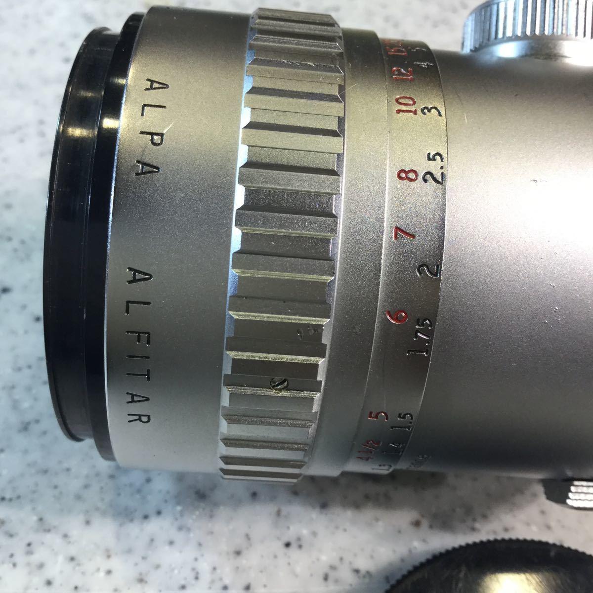 アルパ アンジェニー 90/2.5 ANGENIEUX ALPA 90mm フロントキャップ付_画像4