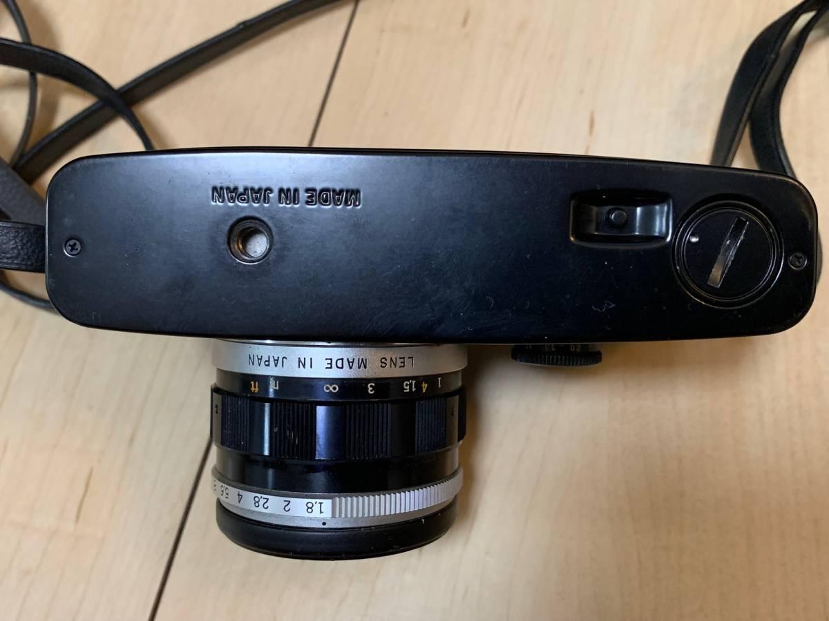 ■シャッター確認済み OLYMPUS PEN-FT F.Zuiko Auto-s 38mm 1.1.8 レンズ付 コレクター放出品 美品_画像7