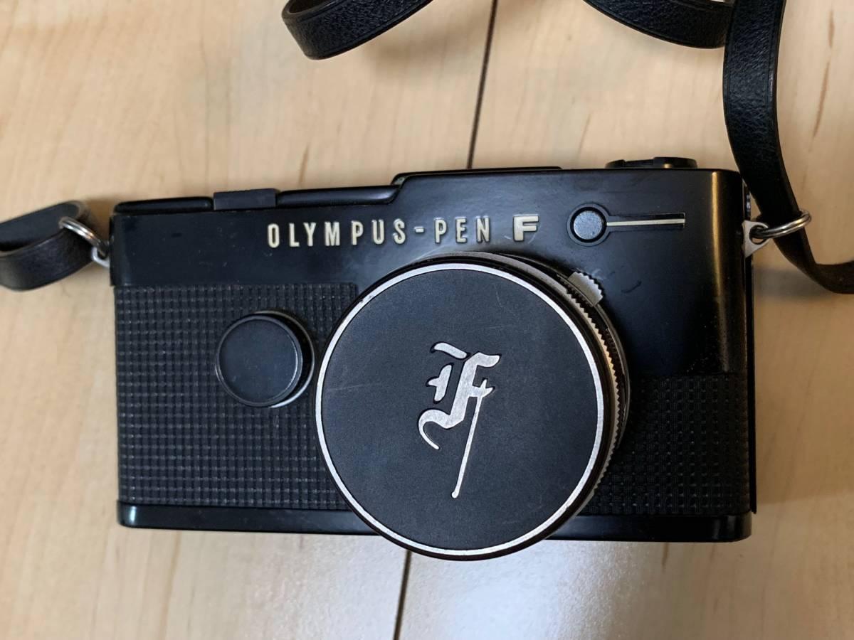 ■シャッター確認済み OLYMPUS PEN-FT F.Zuiko Auto-s 38mm 1.1.8 レンズ付 コレクター放出品 美品