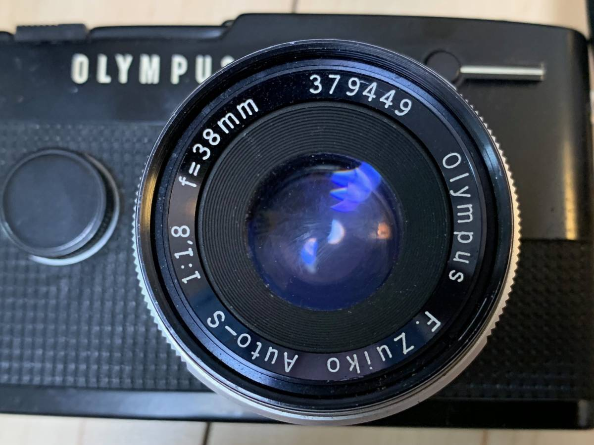 ■シャッター確認済み OLYMPUS PEN-FT F.Zuiko Auto-s 38mm 1.1.8 レンズ付 コレクター放出品 美品_画像2