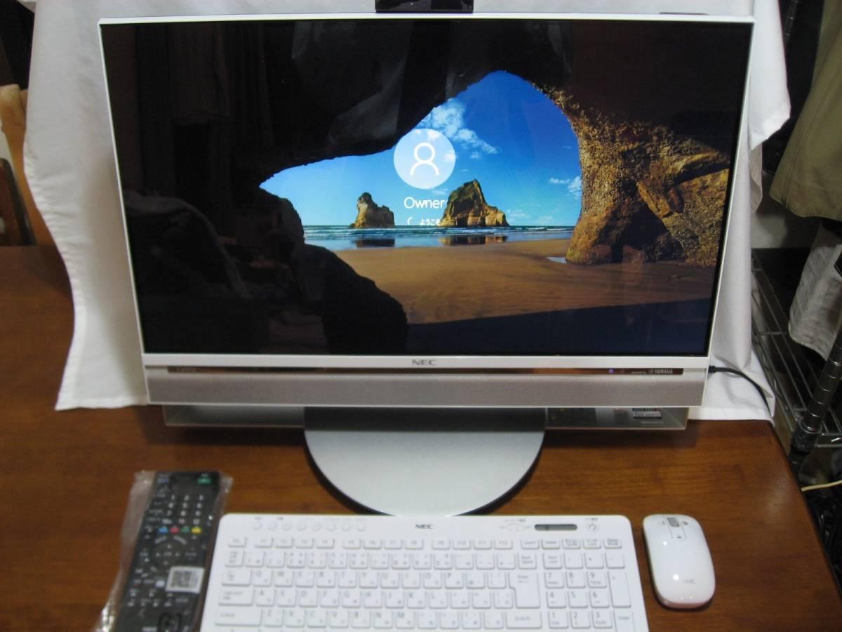 NEC LAVIE Desk All-in-one DA770/AAW インテル Core i7 5500U 解像度フルHD 23.8インチ