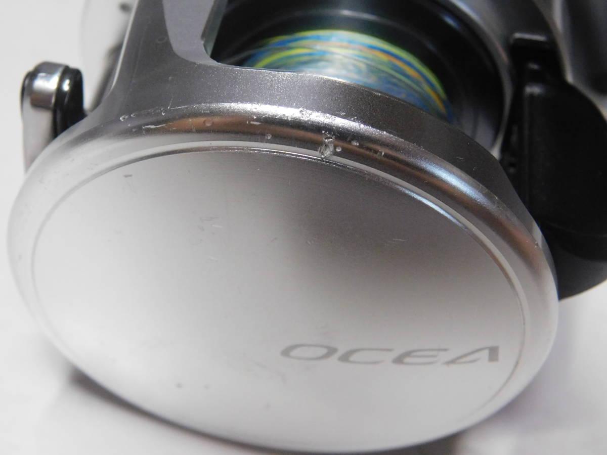 良品 シマノ 13 オシアカルカッタ 300HG_画像7