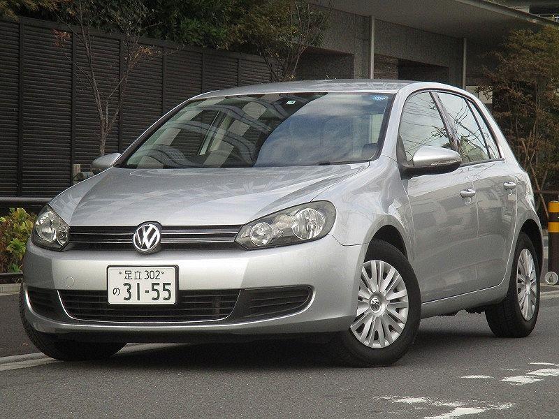 「☆11y VWゴルフ6 TSIトレンドライン ターボ DSG7速改修済み ウインカーミラー タイミングチェーン車両 機関好調 車検 令和4年3月9日」の画像1