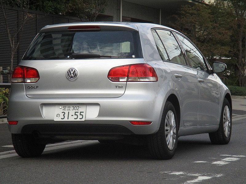 「☆11y VWゴルフ6 TSIトレンドライン ターボ DSG7速改修済み ウインカーミラー タイミングチェーン車両 機関好調 車検 令和4年3月9日」の画像2