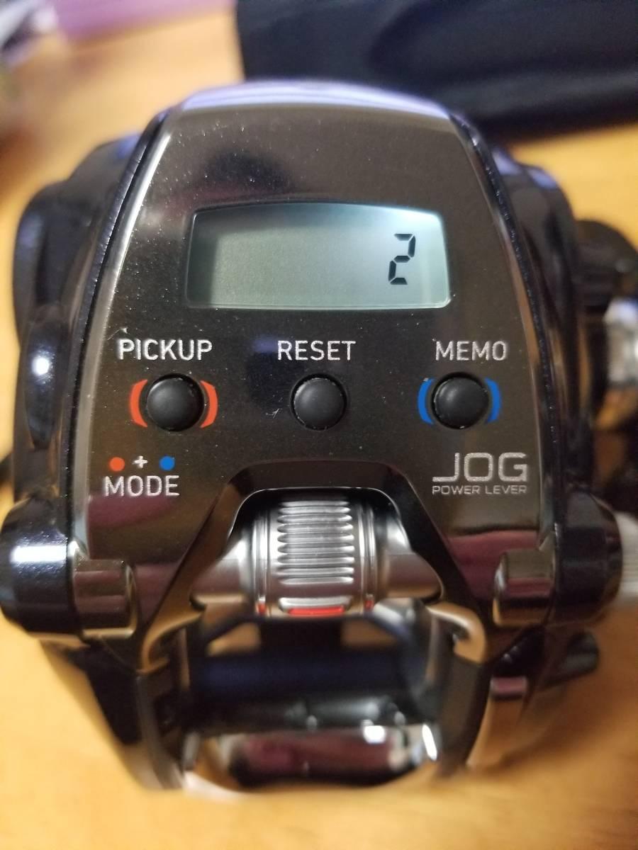 ダイワ レオブリッツ200J 一回使用極上品 未使用スーパーAIRコード付_画像9
