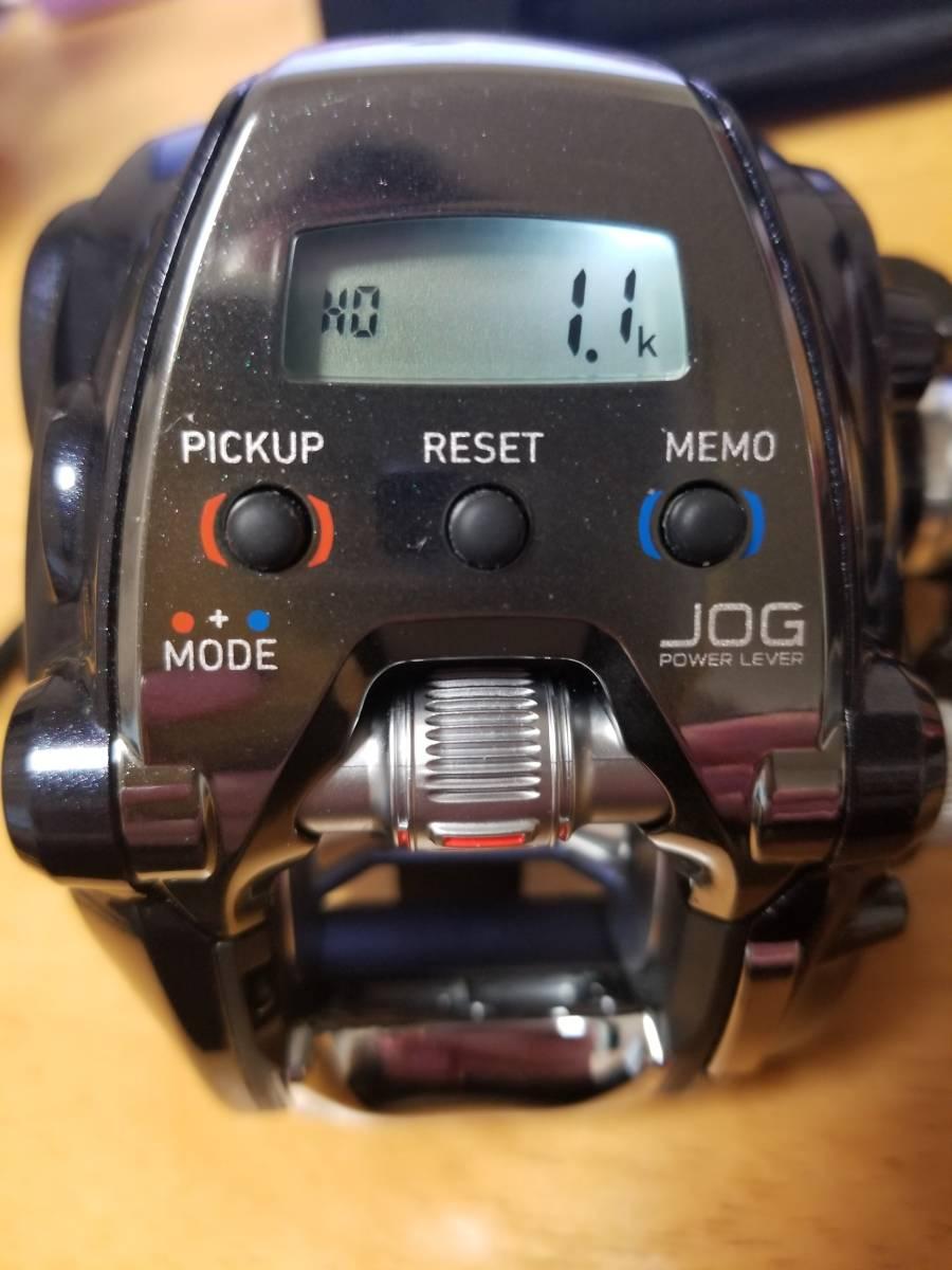 ダイワ レオブリッツ200J 一回使用極上品 未使用スーパーAIRコード付_画像8