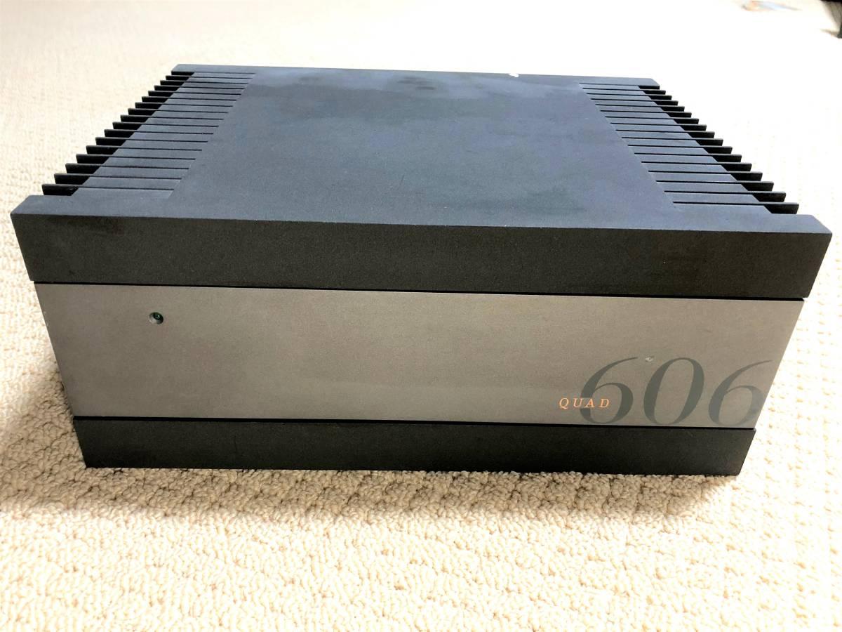 QUAD 606 クオード ステレオパワーアンプ 英国QUAD クオード社製 ジャンク扱い