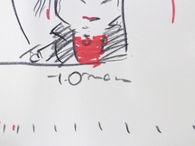 ☆天野喜孝 直筆 イラスト サイン入り 吸血鬼ハンターD  ファイナルファンタジー/ガッチャマン_画像4