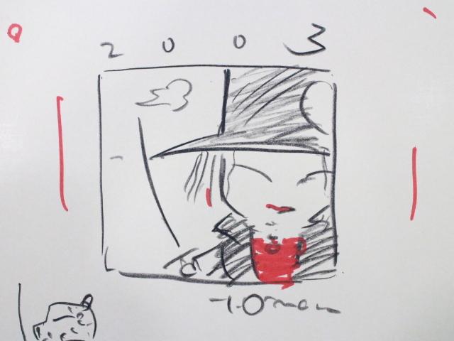 ☆天野喜孝 直筆 イラスト サイン入り 吸血鬼ハンターD  ファイナルファンタジー/ガッチャマン_画像2