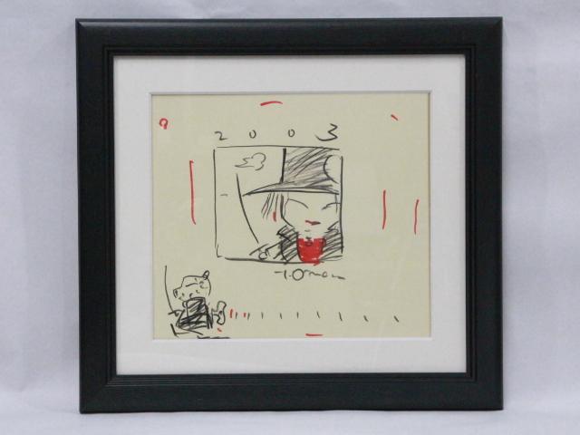 ☆天野喜孝 直筆 イラスト サイン入り 吸血鬼ハンターD  ファイナルファンタジー/ガッチャマン