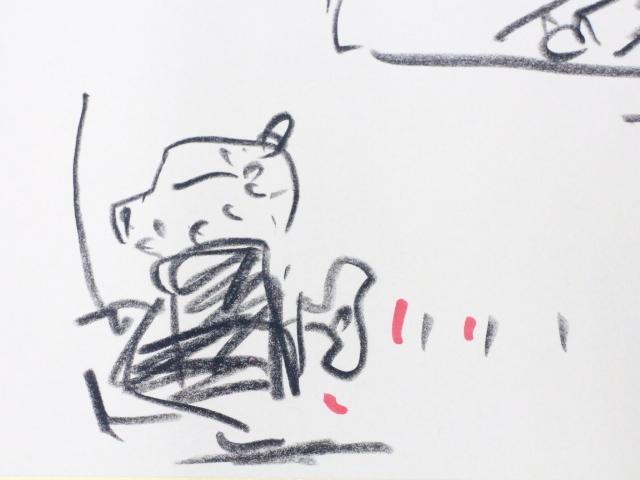 ☆天野喜孝 直筆 イラスト サイン入り 吸血鬼ハンターD  ファイナルファンタジー/ガッチャマン_画像3