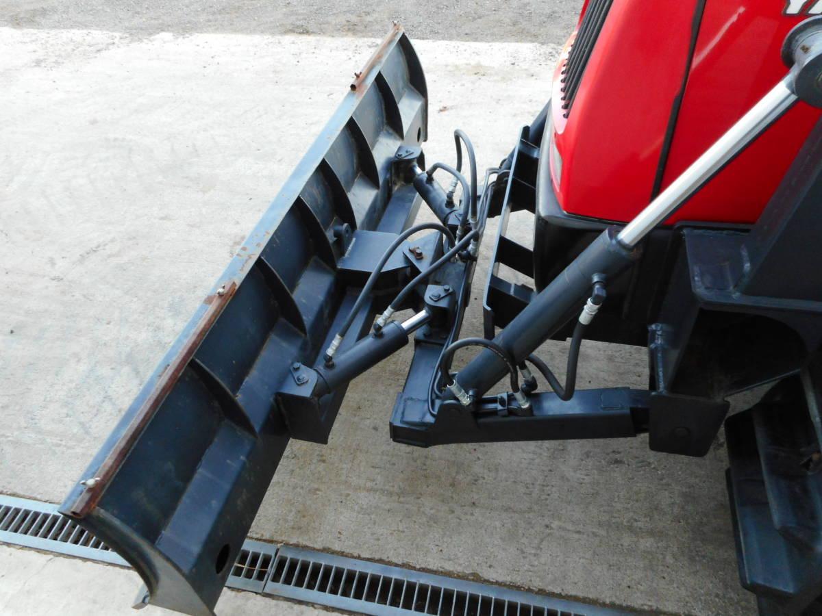 ヤンマー 排土板付き クローラトラクター 整地/除雪に! CT-95 95馬力 エアコン/キャビン/丸ハンドル/HST_画像10