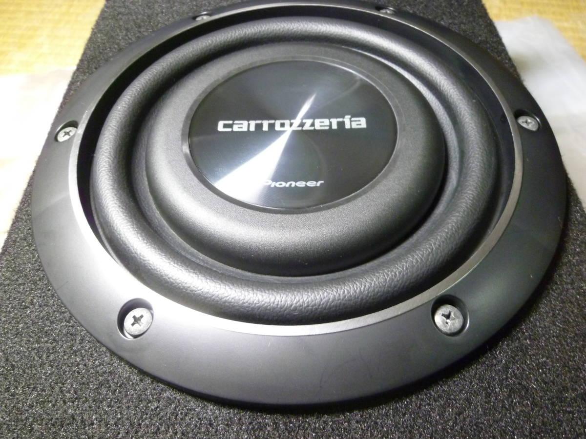 保証有/パイオニア カロッツェリア carrozzeria TS-W2020 20cmサブウーハー UD-SW200D専用BOX付き/カナレ4S6高級SP-K5m付/安いヤフネコ発送_画像2