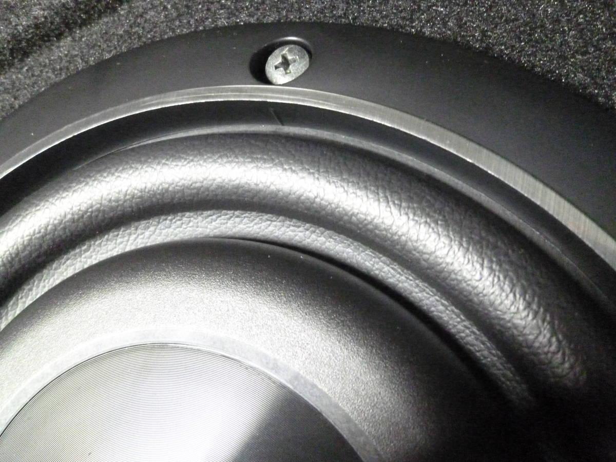 保証有/パイオニア カロッツェリア carrozzeria TS-W2020 20cmサブウーハー UD-SW200D専用BOX付き/カナレ4S6高級SP-K5m付/安いヤフネコ発送_画像4