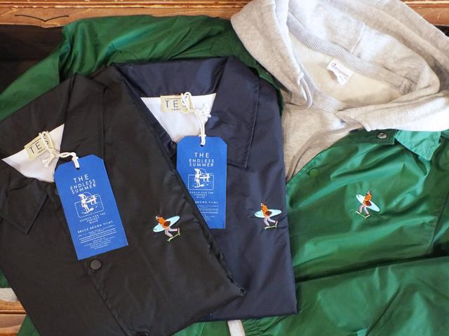 新品 XLサイズ TES エンドレスサマー カリフォルニア コーチジャケット ネイビー The Endless Summer CALIFORNIA CREW COACH JACKET NAVY_画像2