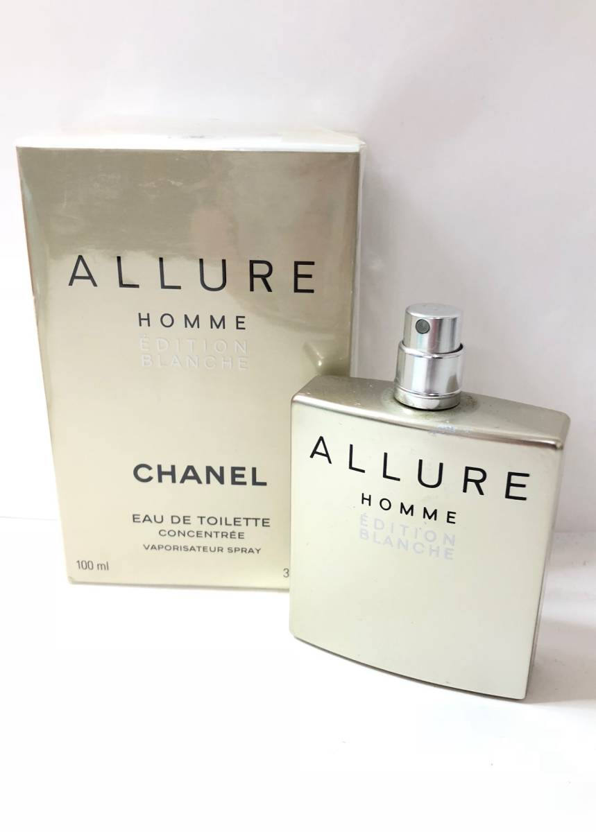 A 119 Unopened Goods Chanel Allure Homme Edition Blanche 100ml Edt