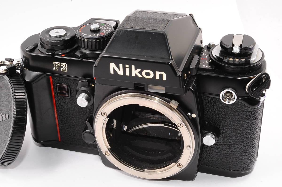 【美品】 ニコン エフ3 Nikon F3 ボディ - ブラック MF 一眼レフ [1555024]
