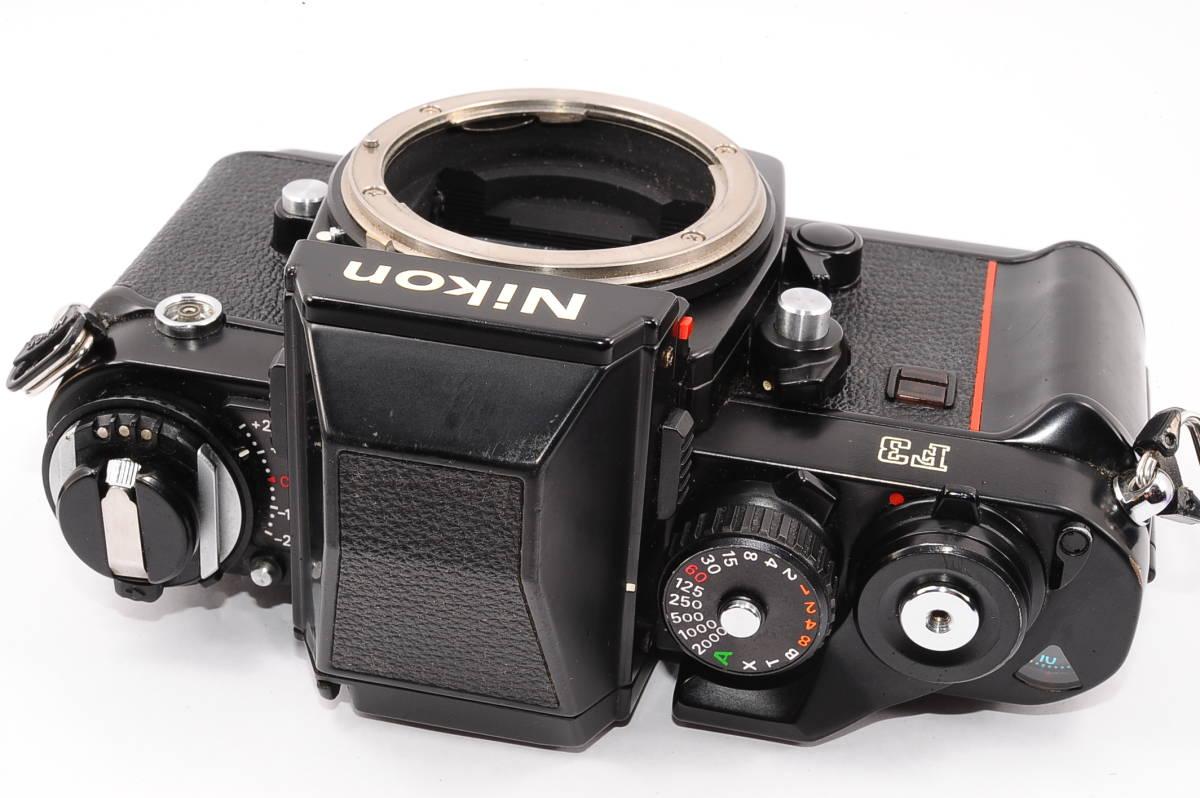 【美品】 ニコン エフ3 Nikon F3 ボディ - ブラック MF 一眼レフ [1555024] _画像2