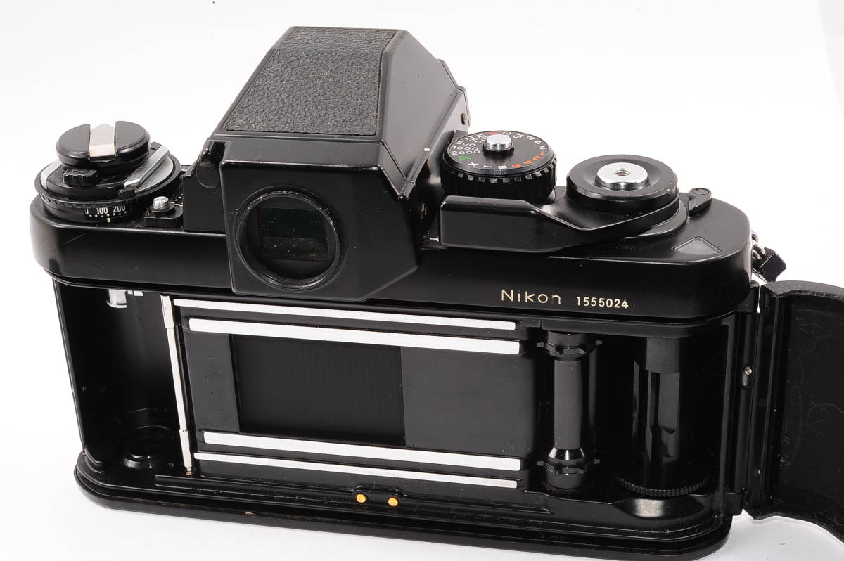 【美品】 ニコン エフ3 Nikon F3 ボディ - ブラック MF 一眼レフ [1555024] _画像4