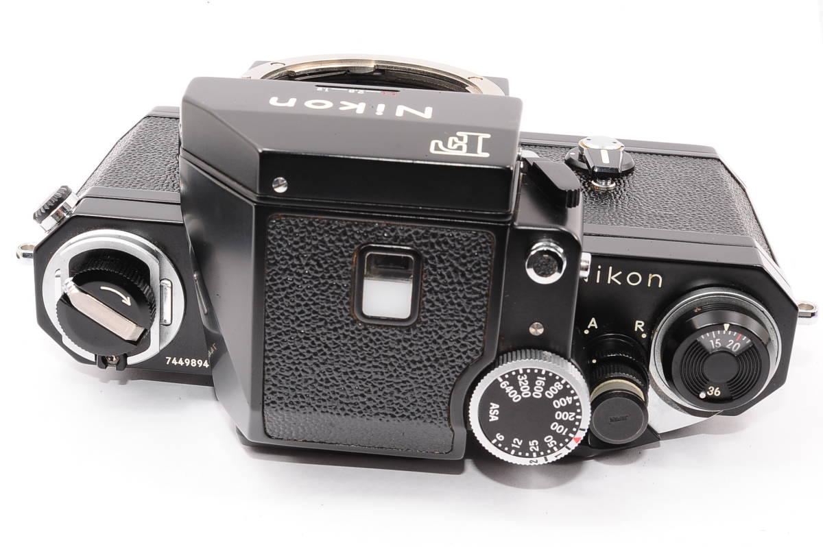 【極上品】 ニコン エフ フォトミック Nikon F ボディ 人気の ブラック MF 一眼レフ [7449894] _画像2