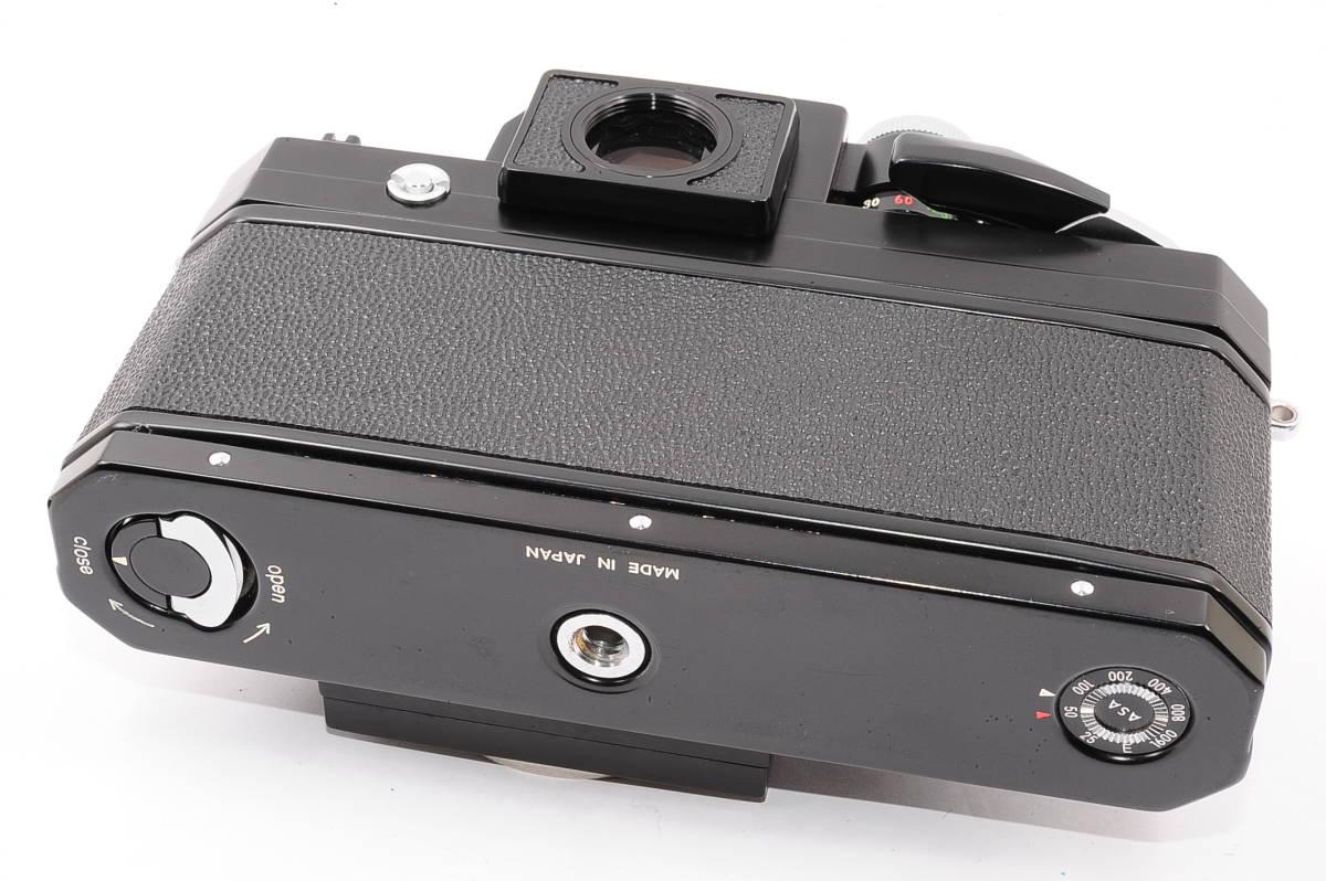 【極上品】 ニコン エフ フォトミック Nikon F ボディ 人気の ブラック MF 一眼レフ [7449894] _画像3