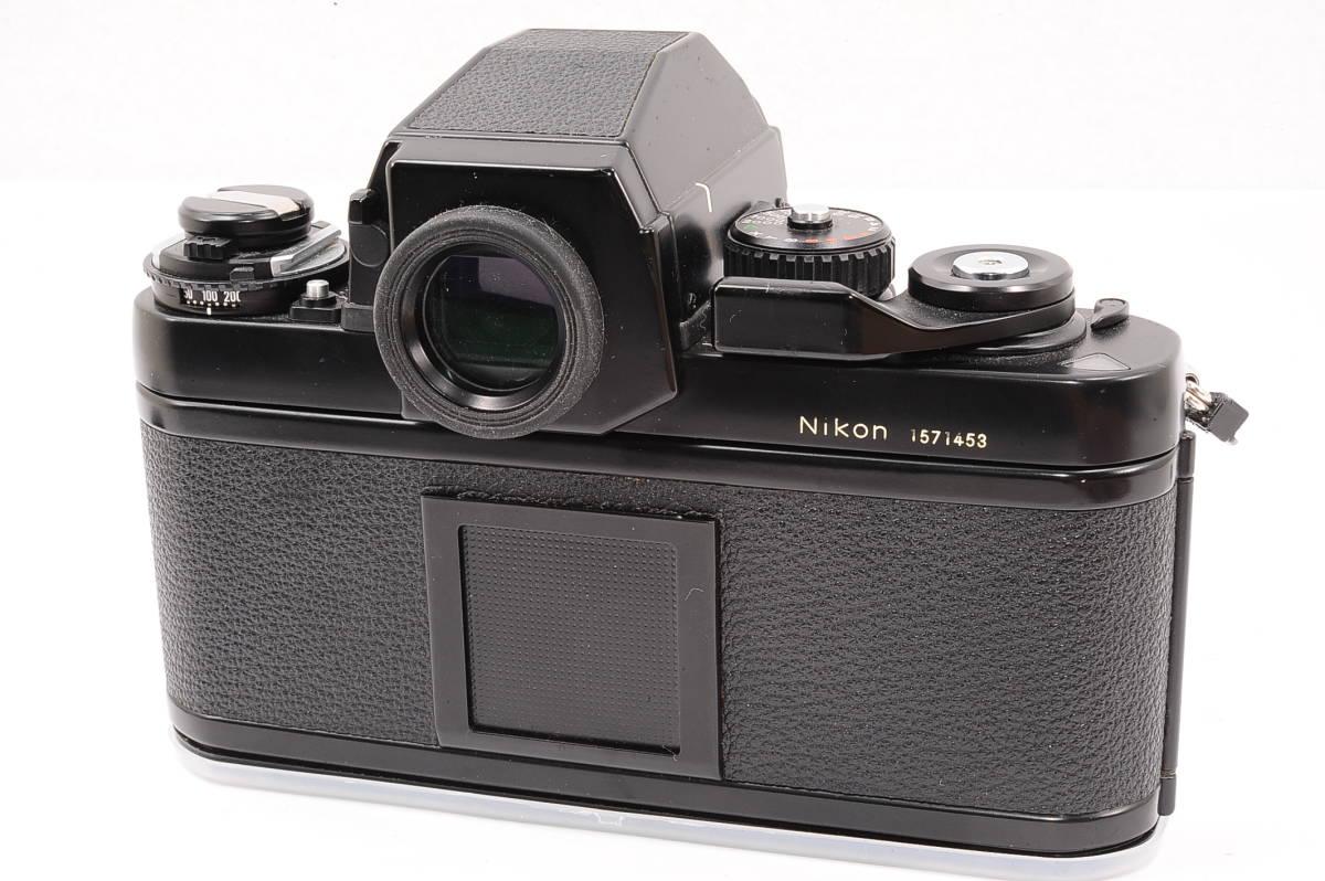 【美品】 ニコン エフスリー エイチピー Nikon F3 HP ボディ - ブラック MF 一眼レフ + 箱、取説付き [1571453] _画像3