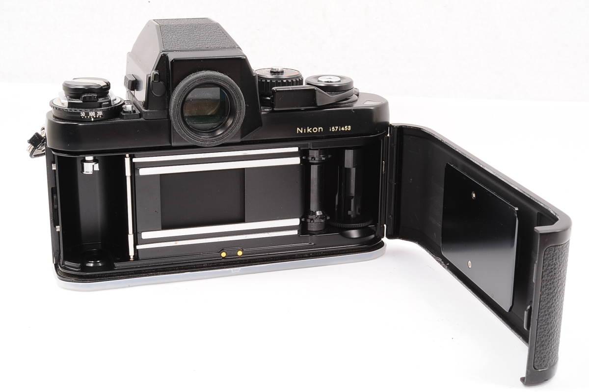 【美品】 ニコン エフスリー エイチピー Nikon F3 HP ボディ - ブラック MF 一眼レフ + 箱、取説付き [1571453] _画像4