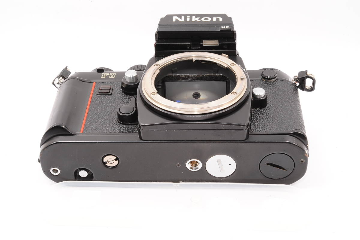 【美品】 ニコン エフスリー エイチピー Nikon F3 HP ボディ - ブラック MF 一眼レフ + 箱、取説付き [1571453] _画像5