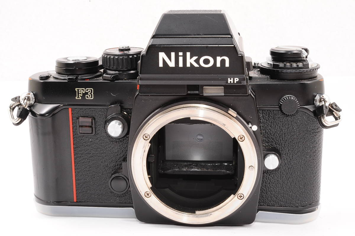 【美品】 ニコン エフスリー エイチピー Nikon F3 HP ボディ - ブラック MF 一眼レフ + 箱、取説付き [1571453] _画像6