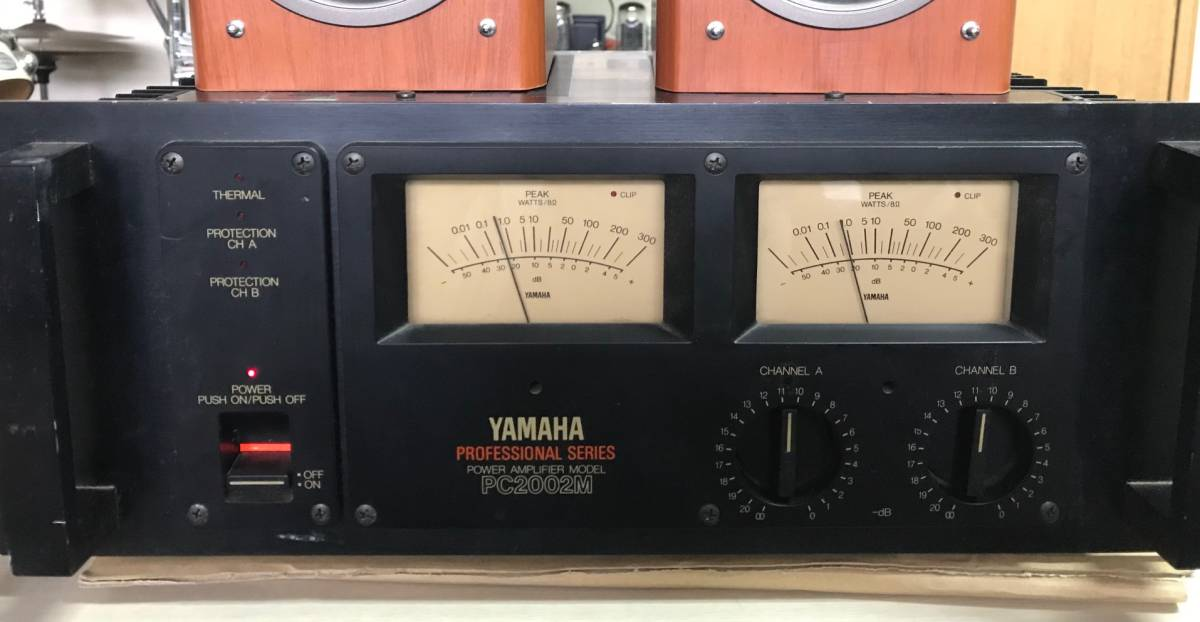 YAMAHA PC2002M ヤマハ パワー・アンプジャンク扱い_画像4