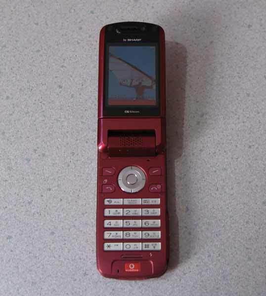 携帯電話 Vodafone SHARP 802SH ...