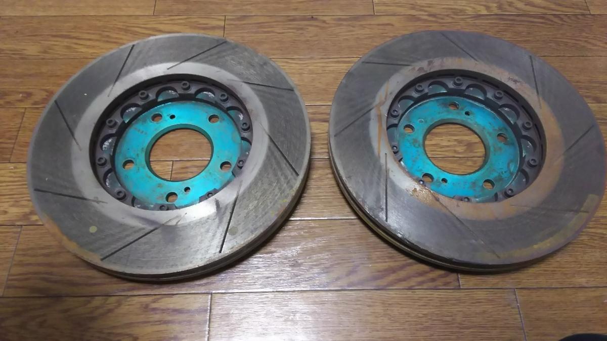【S2000】プロジェクトμ SCR-PRO ブレーキローター_画像2