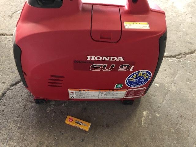 美品!良品!HONDA/ホンダ インバーター発電機 EU9i 50/60Hz兼用_画像2