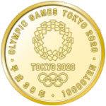2020年東京奧運會紀念幣100萬日元金幣新品① 編號:o278195259