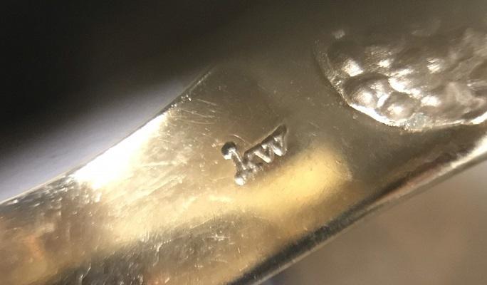 K9 YG カレンウォーカー 茶水晶 リング 13号_画像4
