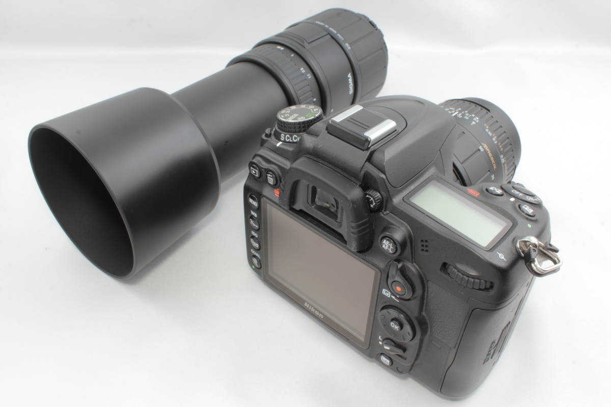 ☆美品☆ ニコン NIKON D7000 超望遠300mm ダブルズームキット