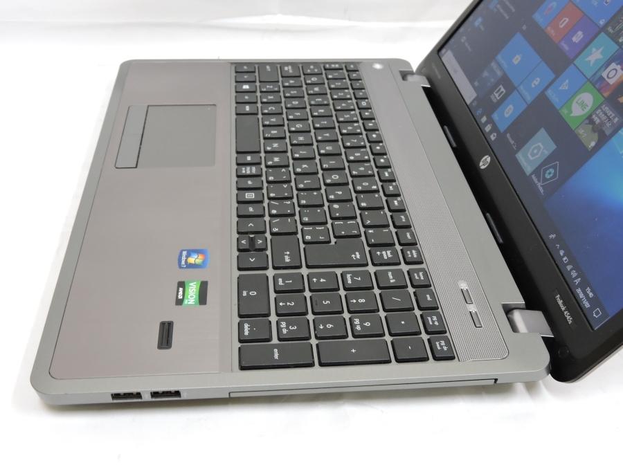 即日発送可 良品 15.6型 HP Probook 4545s Win10 64 Pro/AMD A4-4300M/4G/320G/無線/KingSoft office 2016 税無 中古PC _画像5