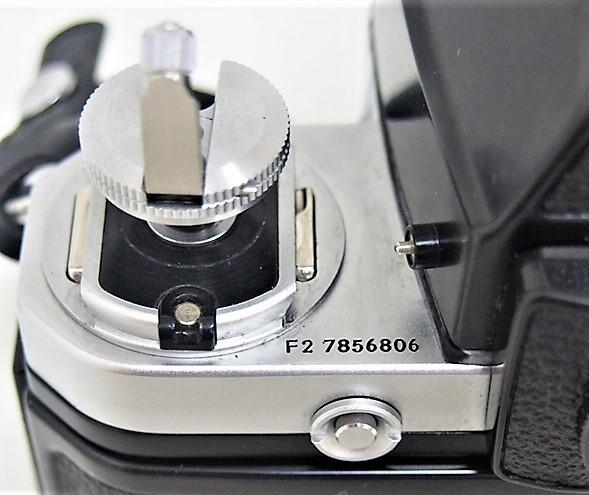 9★ ニコン Nikon F2 フォトミック A レンズ Nikon NIKKOR 50mm 1:1.4 レンズフィルター L1Bc 52mm 前部レンズキャップ ストラップ付き_画像9