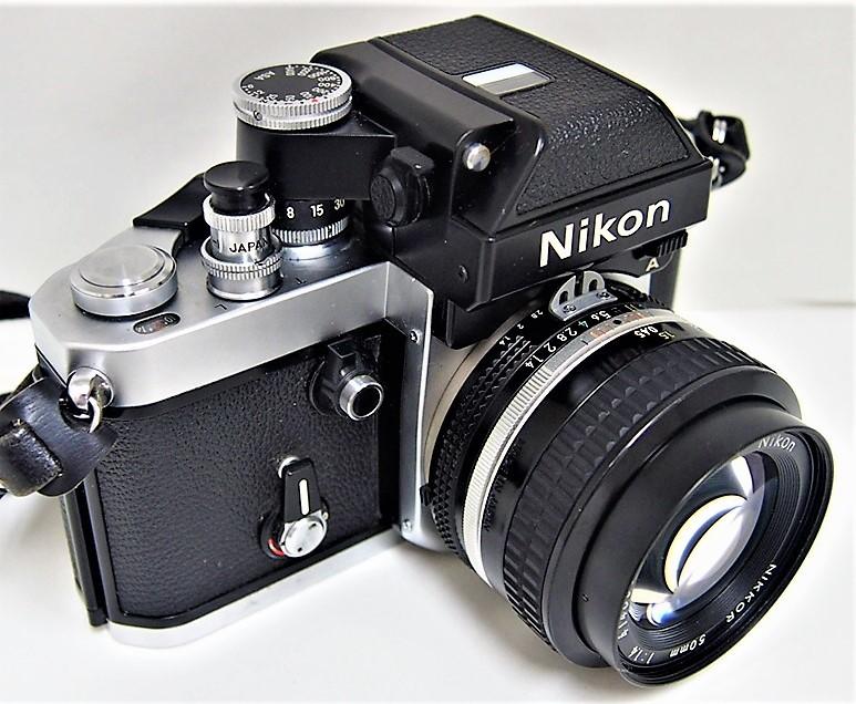 9★ ニコン Nikon F2 フォトミック A レンズ Nikon NIKKOR 50mm 1:1.4 レンズフィルター L1Bc 52mm 前部レンズキャップ ストラップ付き_画像2